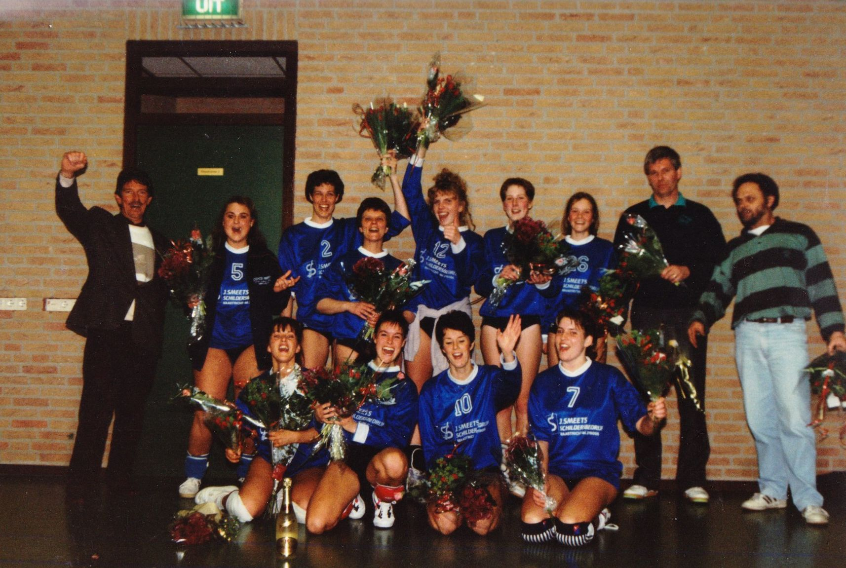 Dames 1 Dovoc '83 Kampioen Seizoen 1992/1993