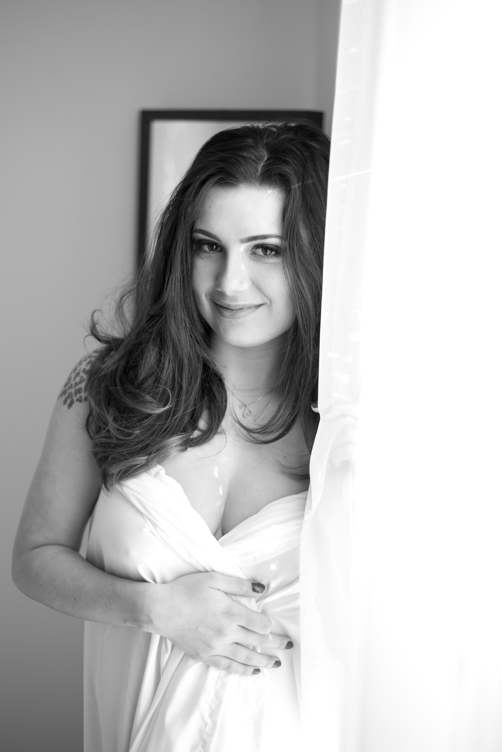 Natural classy boudoir photography Clarksville, TN
