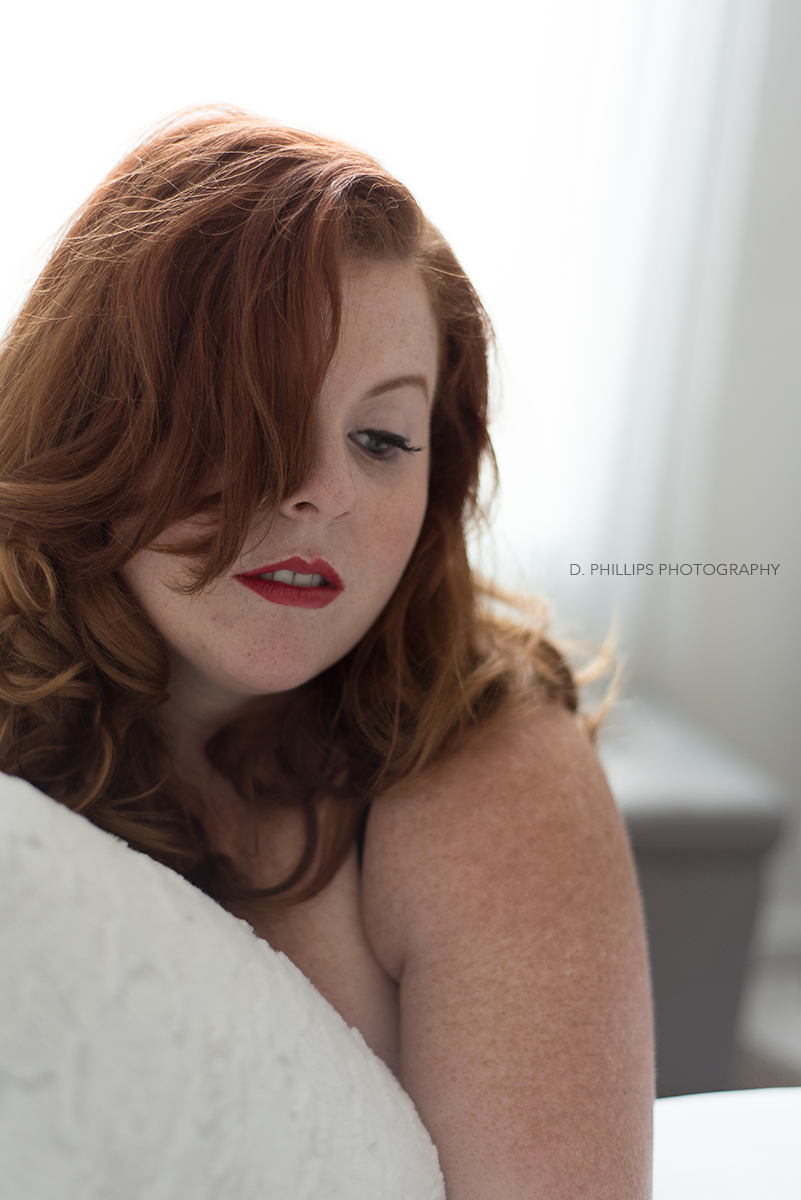 Sultry retro-inspired boudoir photos | D. Phillips Photography, Clarksville TN