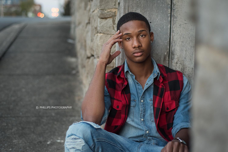 Male teen modeling portfolio | D. Phillips Photography