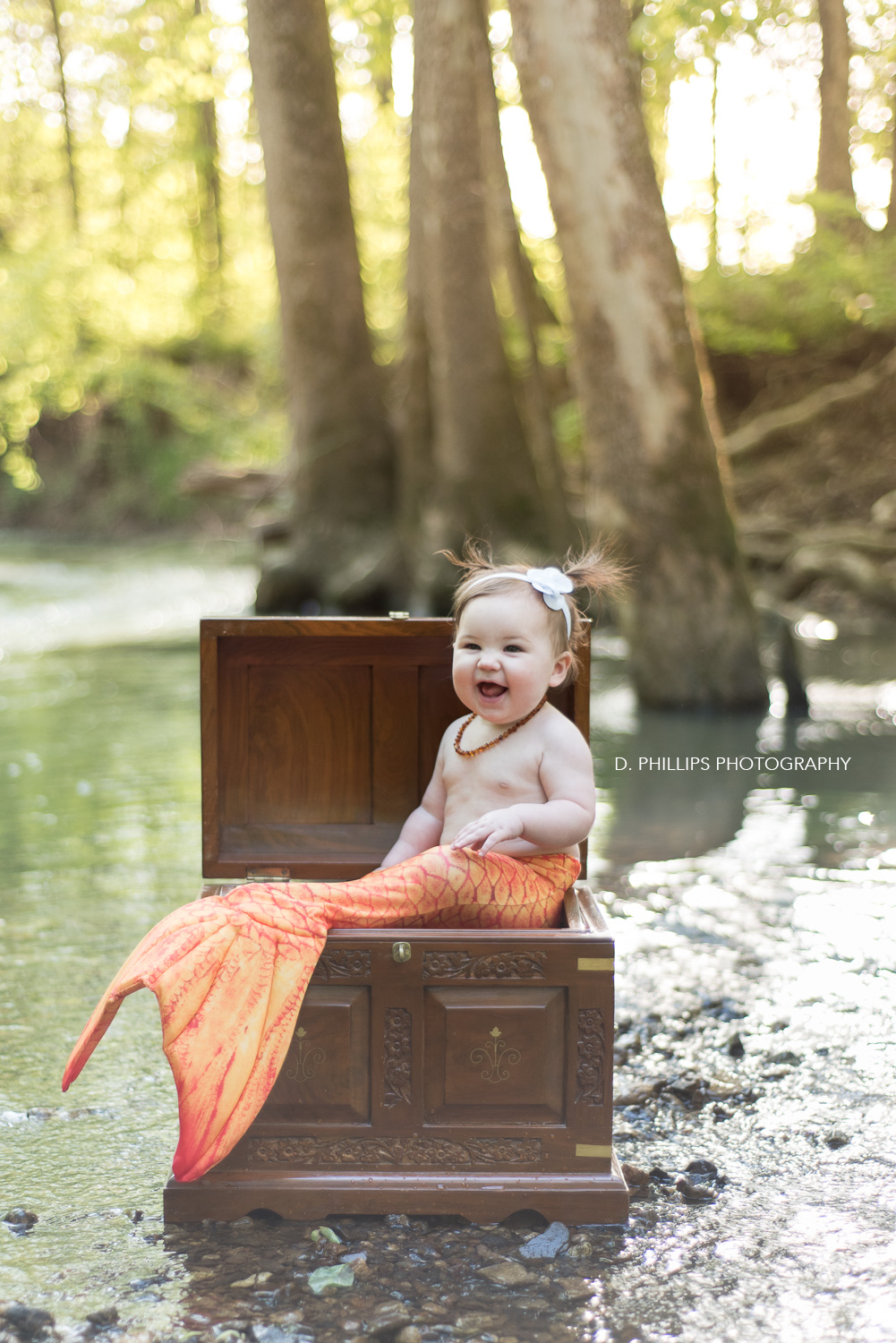 Baby mermaid pictures! www.dphillipsphotography.com/blog