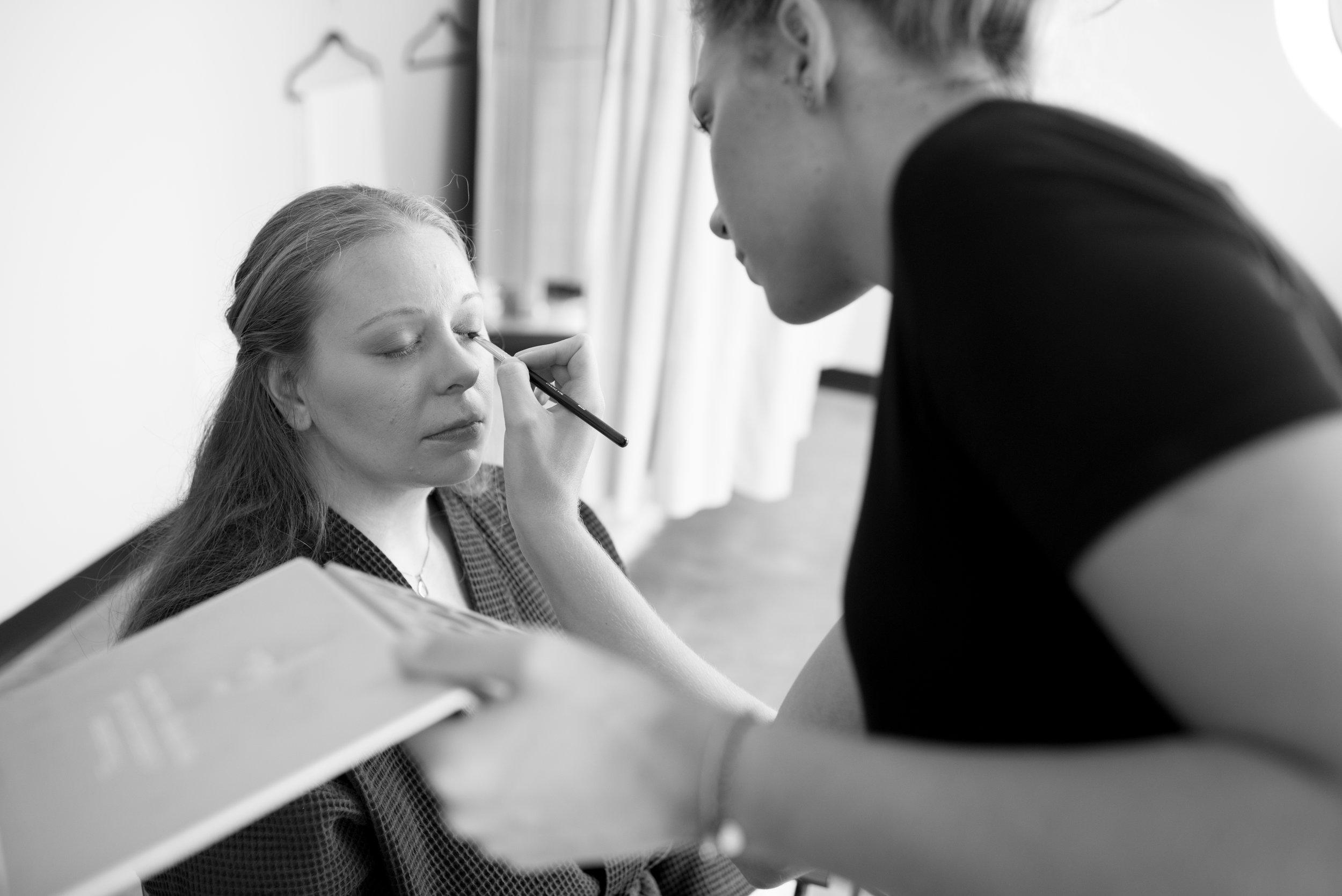 Boudoir Hair and Makeup D. Phillips Photography Clarksville