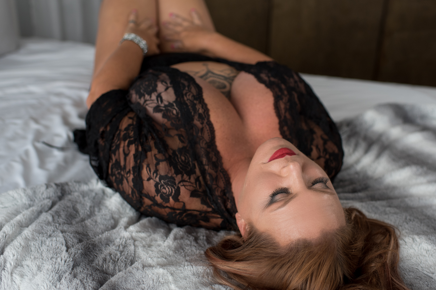 Lace Boudoir in Clarksville Tennessee with D. Phillips Photography