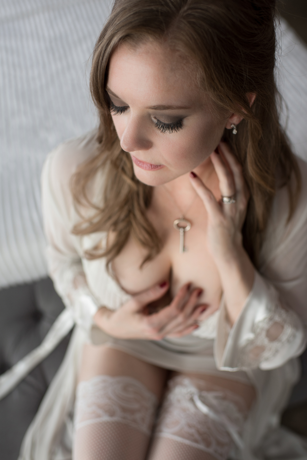 Classy Boudoir in Fort Campbell Kentucky - D. Phillips Photography