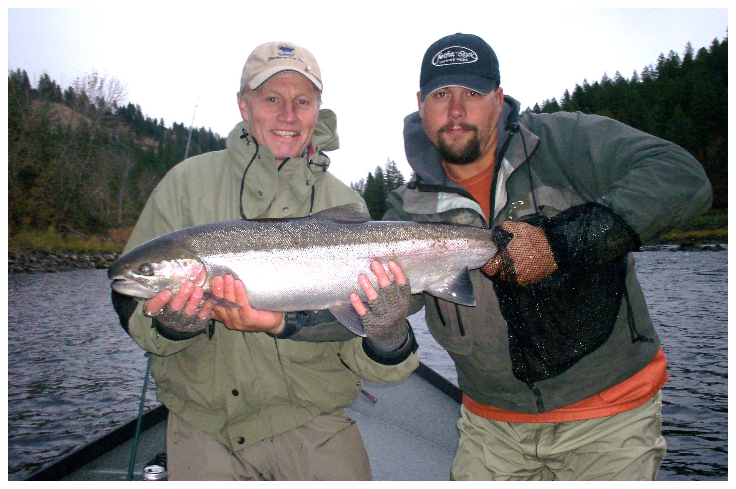 Guided Steelhead Fishing