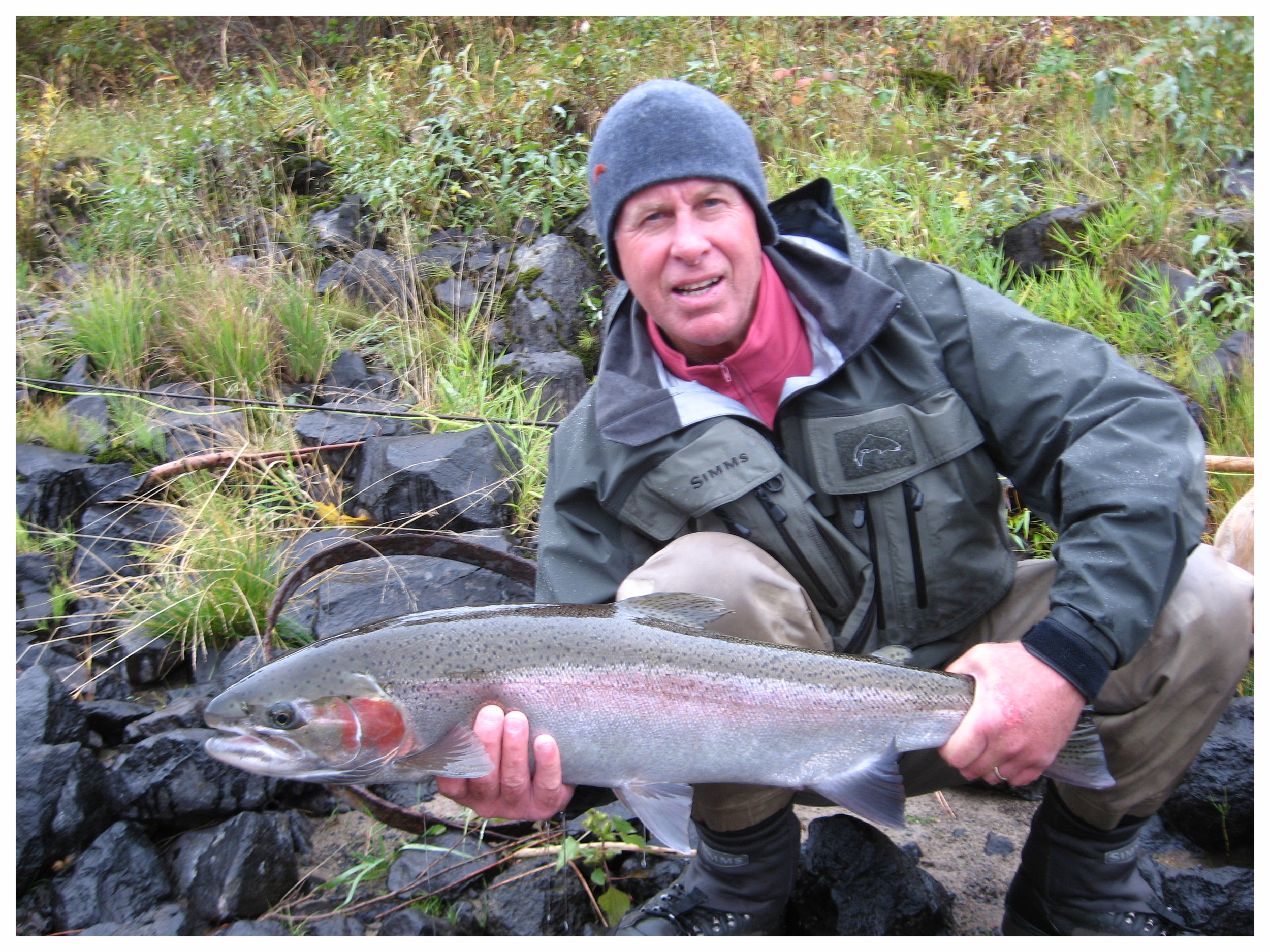 Early season steelhead fishing