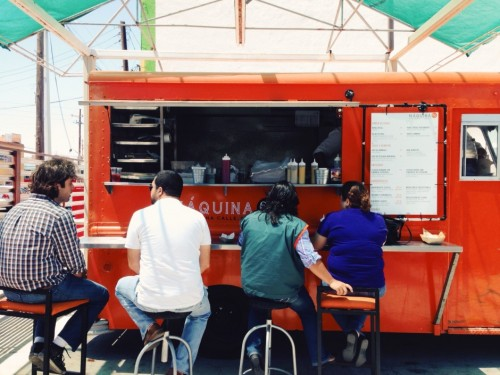 Maquina 65 of Tijuana's Telefonica Gastro Park (which we can say from experience, outshines any food truck park we've ever been to - Look out, Portland!)