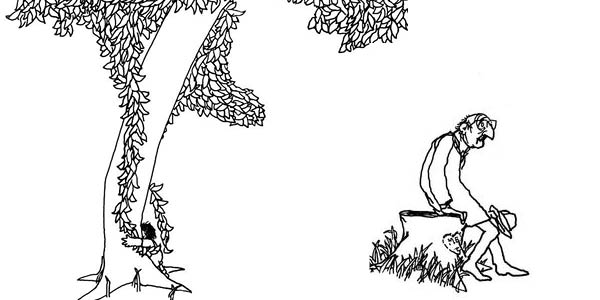 Images from  The Giving Tree , Shel Silverstein