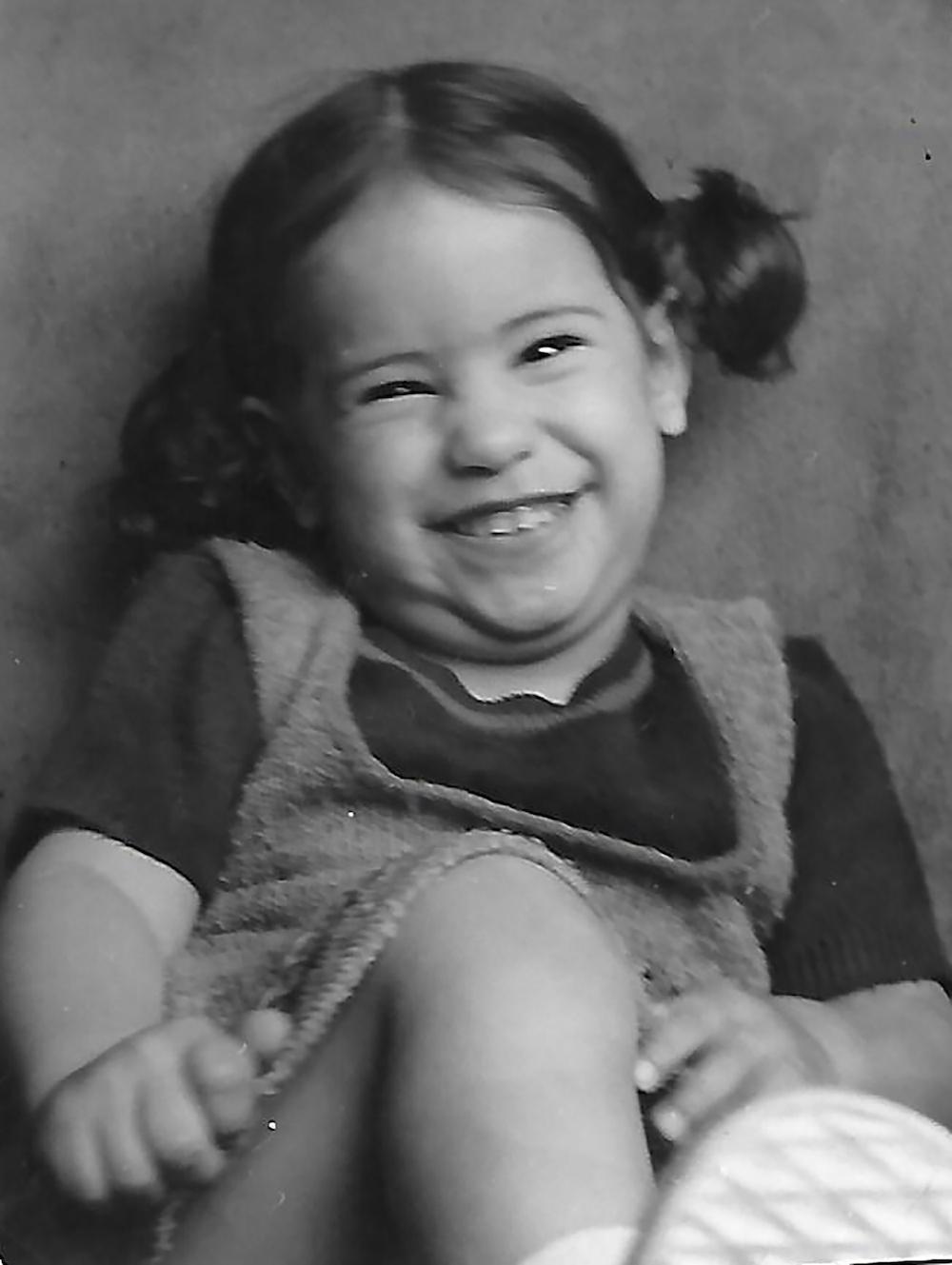Mariana, age 3