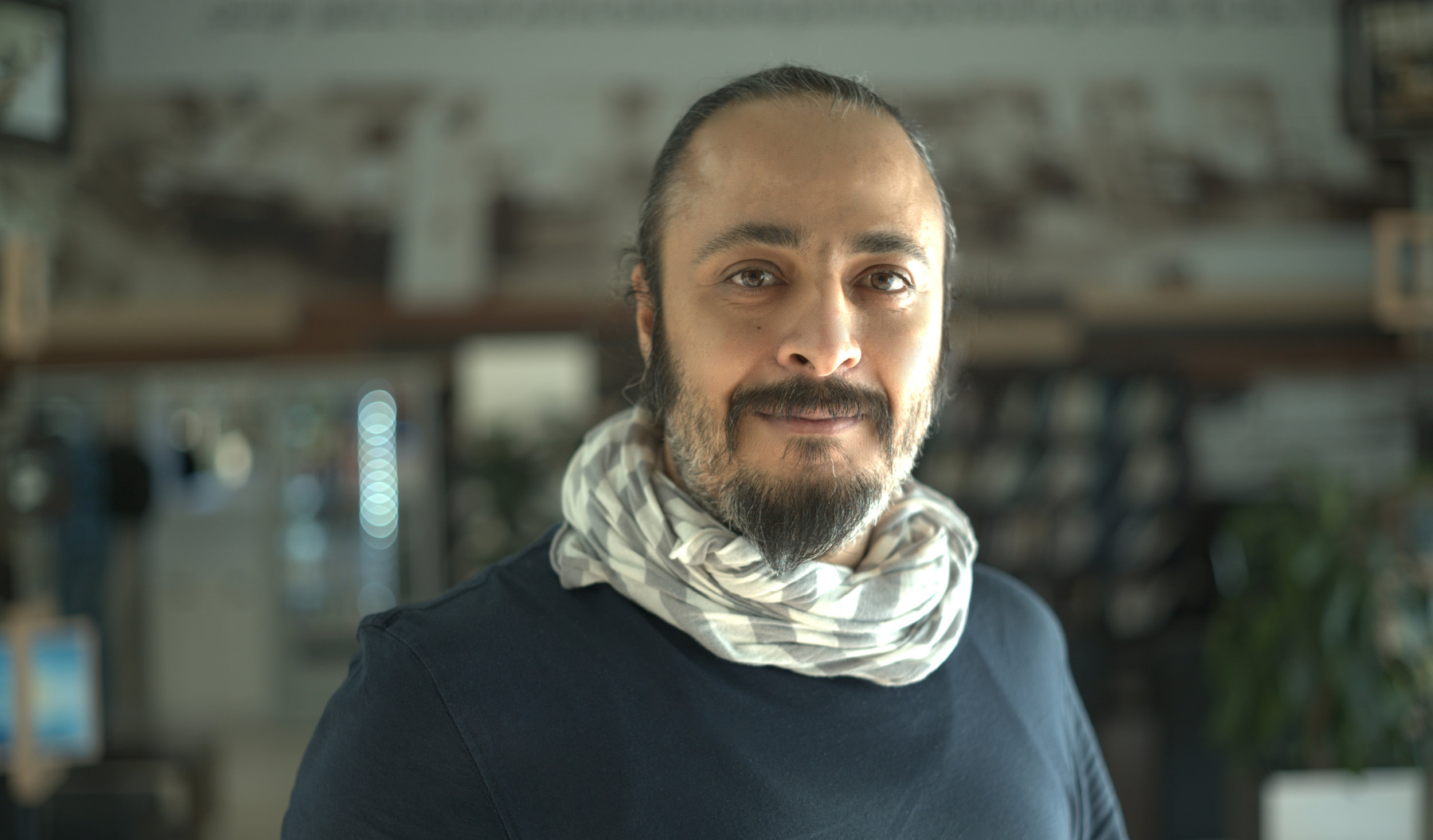 HASSAN MANASRAH - Hassan is a visual artist, illustrator, and comic creator. From 2008 to 2010, he worked as assistant art director for the animated cartoon series Pink Panther & Pals. Since 2010, he has illustrated 25 children books. In 2016, he won an Etisalat Award for best illustration for the Palestinian edition of The Blue Pool of Questions. More art from Hassan at https://www.behance.net/manasrah.