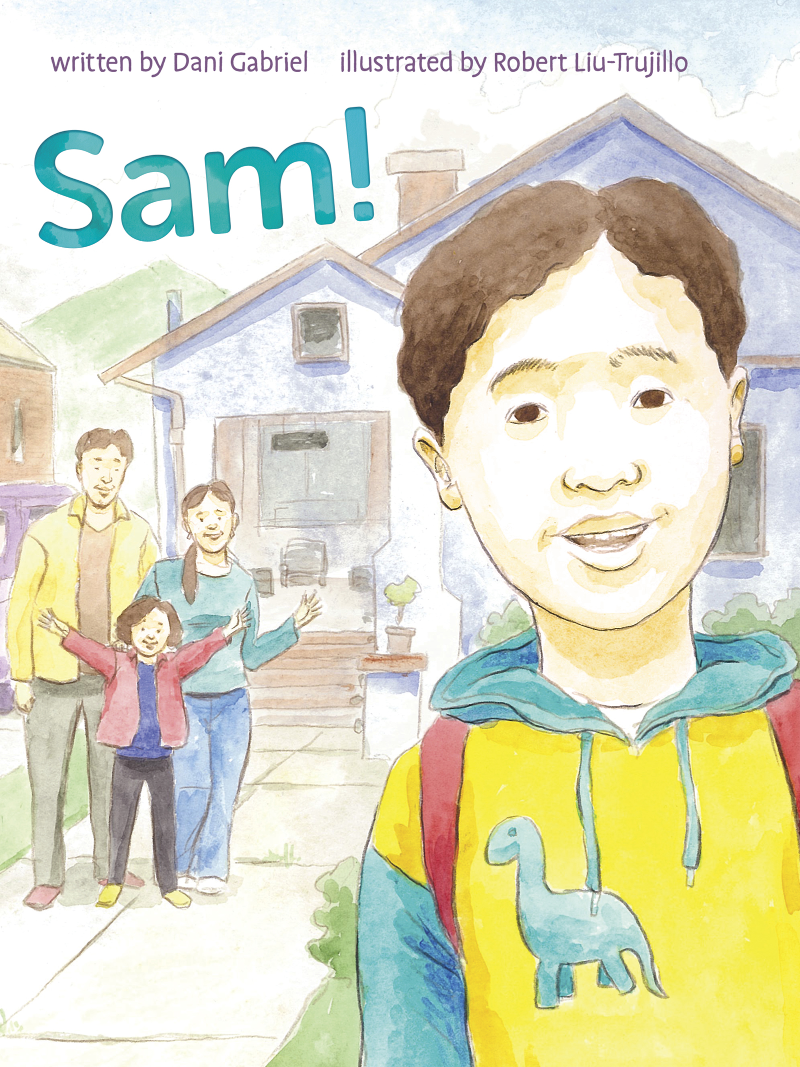 The front cover of  Sam!