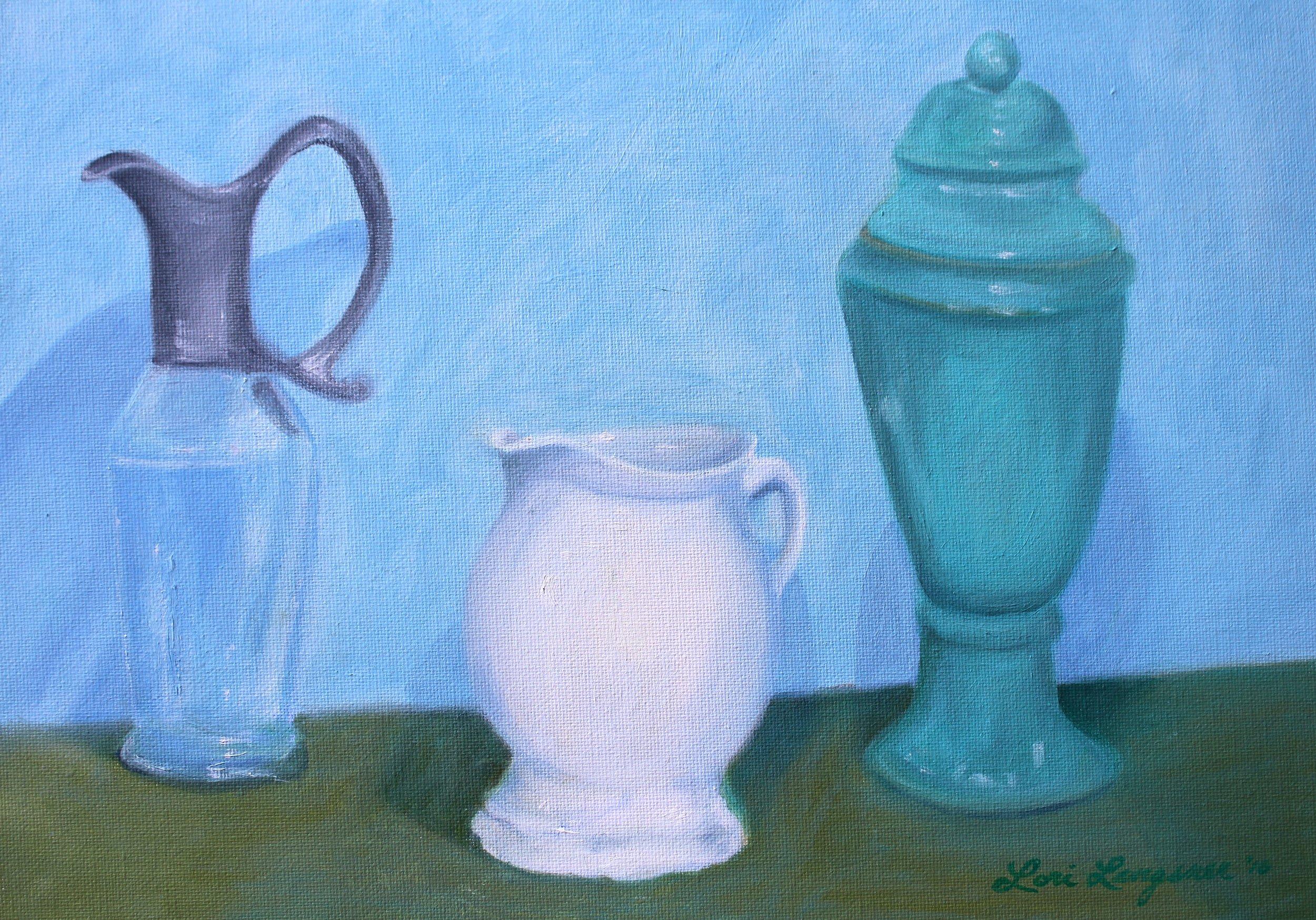 Still Life with Three Vessels