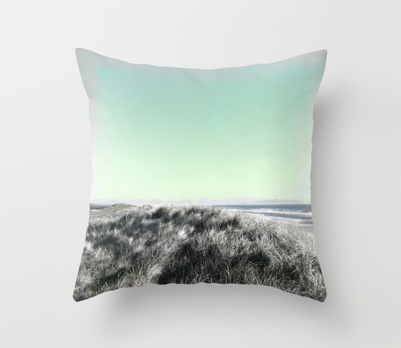 Escape Beach Pillow