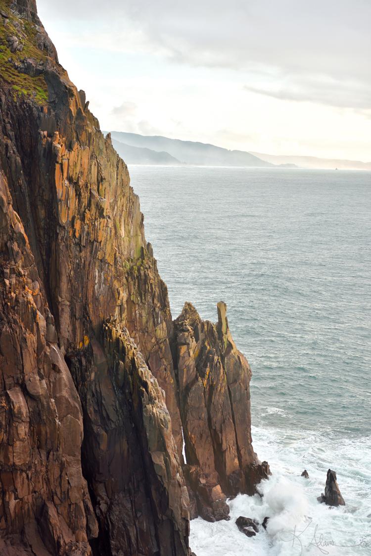 Neahkahnie Headland Cliff