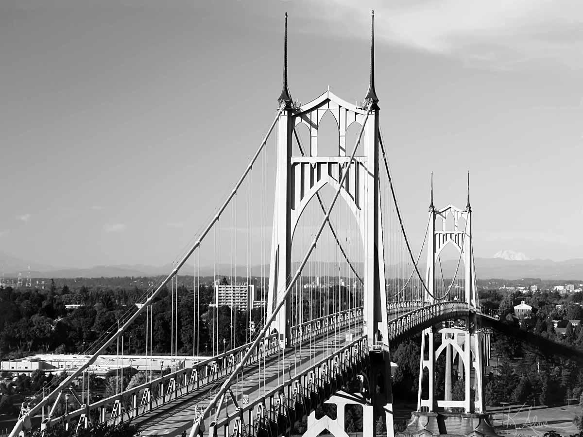 St. John's Bridge, Portland
