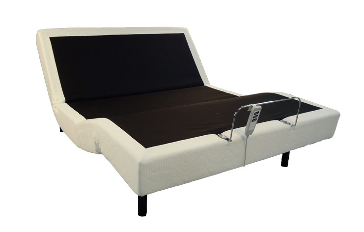 Wave by Emerald Home Furnishings is an   adjustable bed base with wired remote control