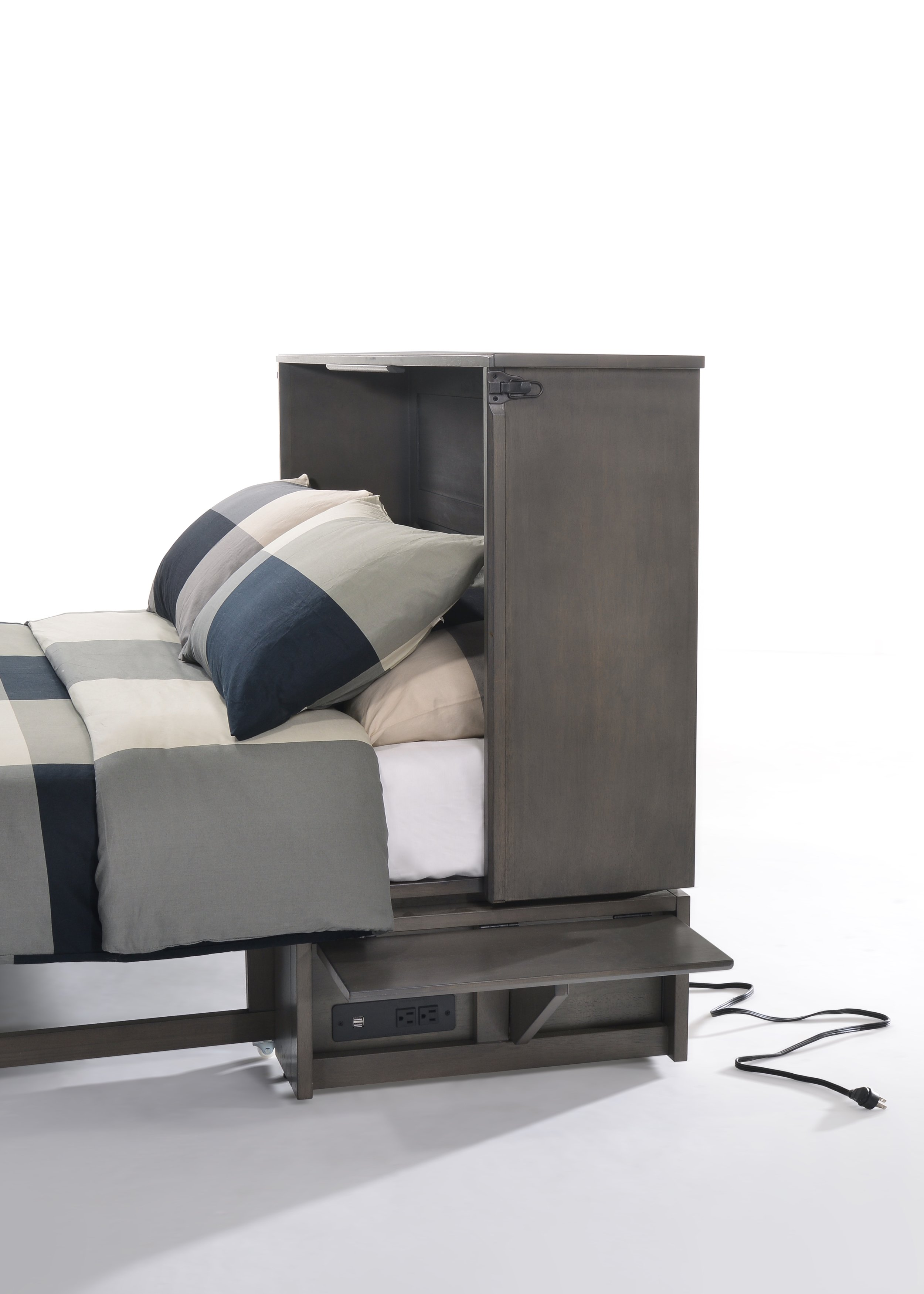 Power,USB Ports, and Night Stand -