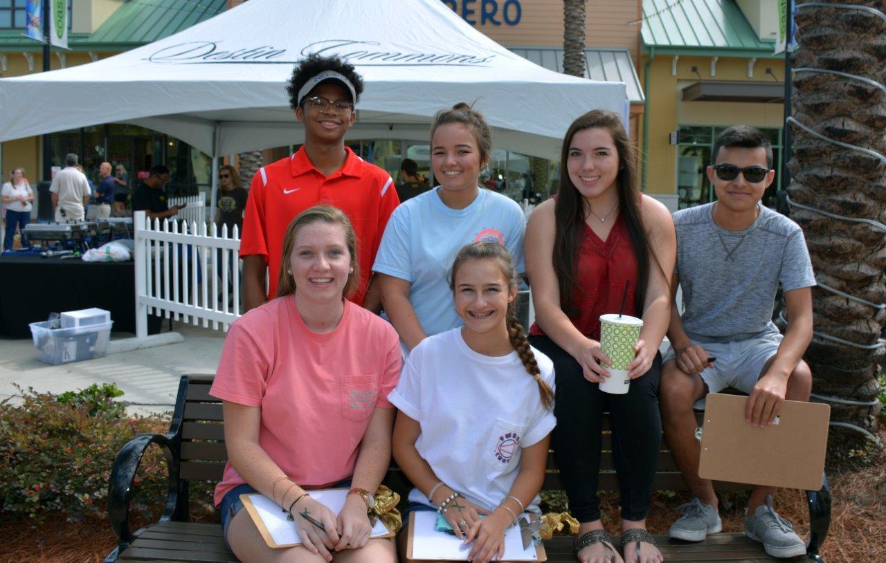Ft. Walton High School Students Participate.jpg