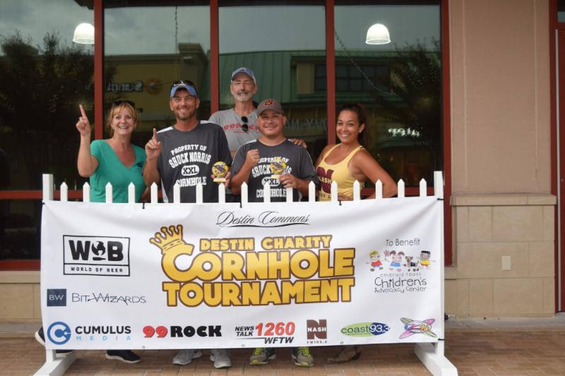 The Destin Charity Cornhole Tournament was a huge success! We'd like to thank World of Beer, along with Destin Commons, for hosting such a wonderful, family friendly event.