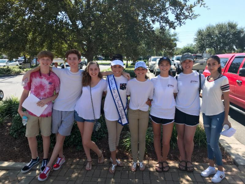 """A big thank you to the """"Friends of Freeport""""! They were our volunteer scorekeepers at the 3rd Annual Destin Charity Cornhole Tournament!"""