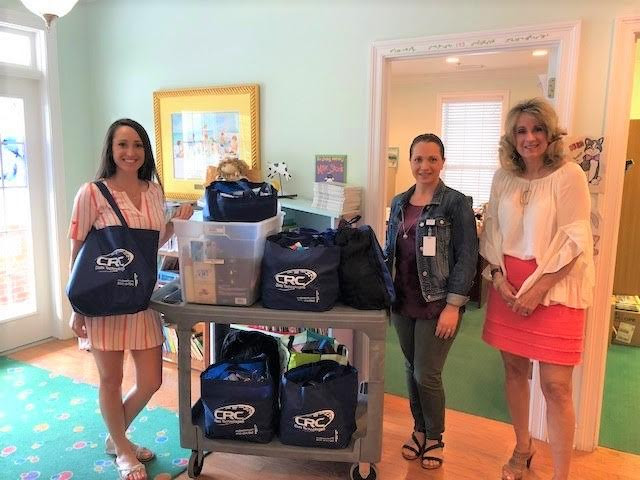 We'd like to thank CRC Data Technology for their generous donation of supplies to the ECCAC!