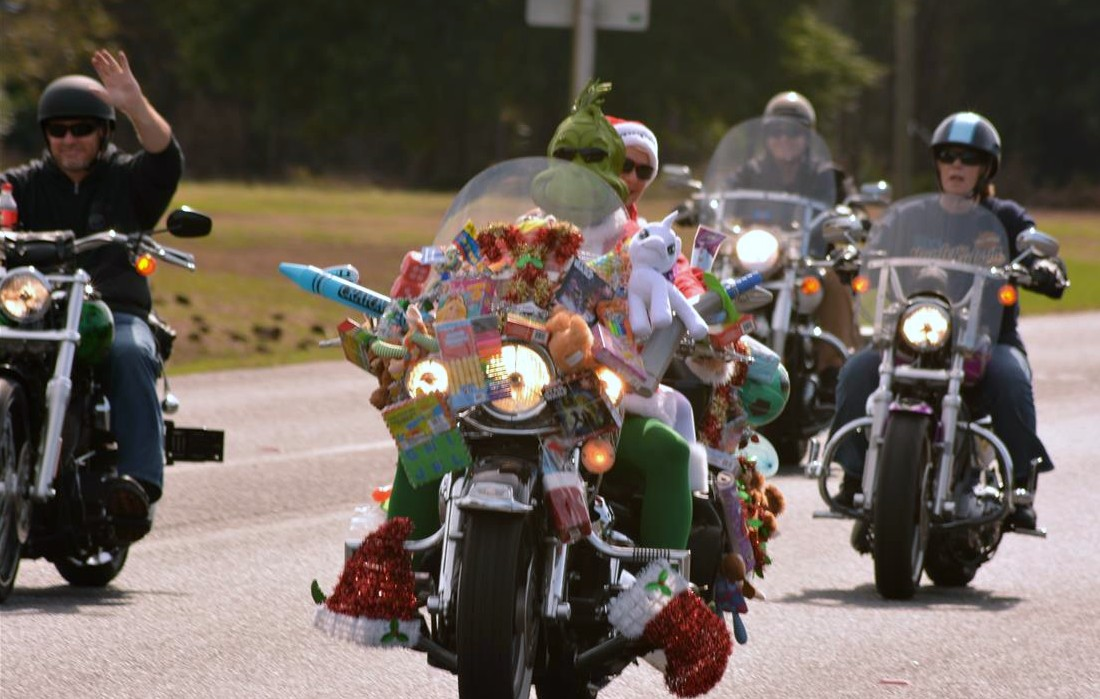 The Emerald Coast Harley Owner's Group (HOG) Chapter #3605, sponsored by Emerald Coast Harley Davidson, will be doing their 39th Annual Toys 4 Tots Motorcycle Run on Sunday, November 18. Proceeds will benefit the Emerald Coast Children's Advocacy Center and Children in Crisis.