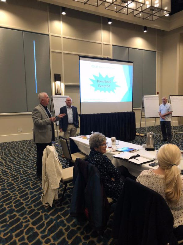 A special thank you to Board Member Tom Saffel for leading our Development Retreat. His guidance will help us to grow and leverage our resources to ensure services for our children!