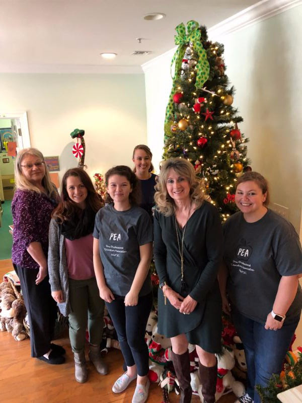 Thank you to the Northwest State College Pre Professional Education Association for creating a Christmas wonderland at our Niceville Center!