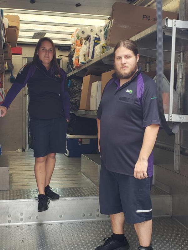 We'd like to thank the FedEx workers who took a third load of supplies from our Center to the Gulf Coast Children's Advocacy Center, which suffered major damages from Hurricane Michael.