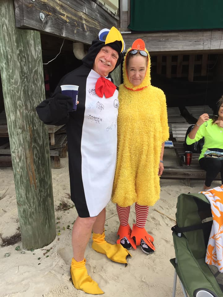 A special thanks to our token Penguin and Chicken, Matt Hewatt and Brenda Barre!