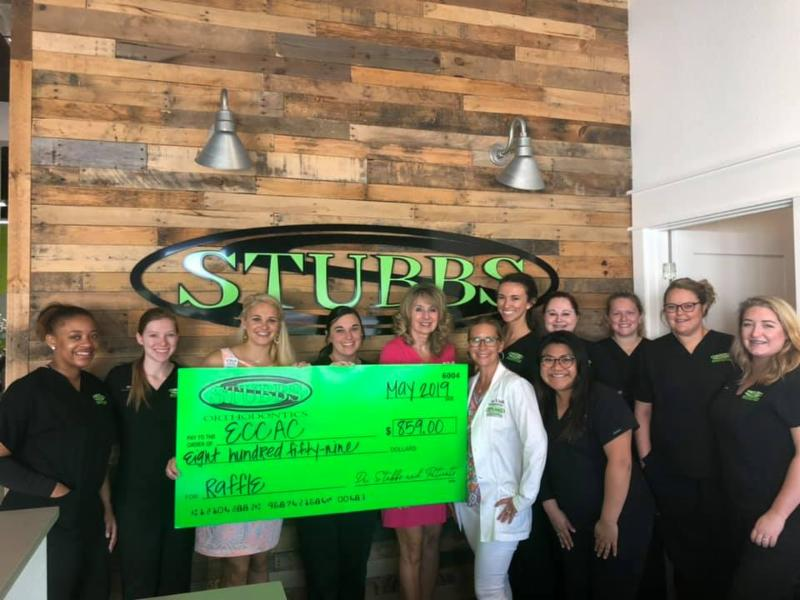Thank you  Stubbs Orthodontics  for the fundraiser you did for us last month AND for being one of our Angel sponsors for our Golf & Gala! We can't thank you enough for your continuous support!