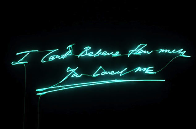 happy valentine's day from lehman maupin &  tracey emin