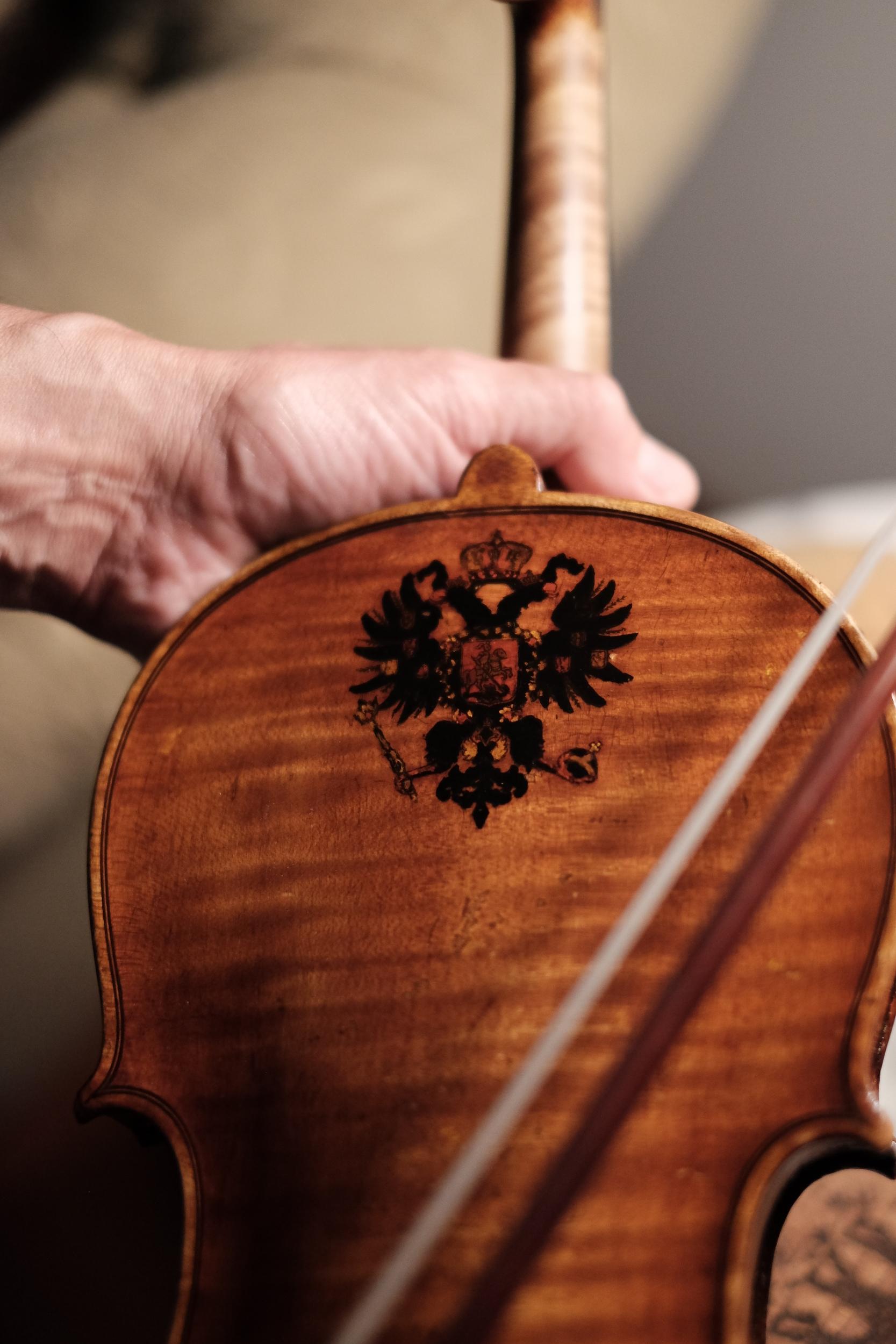 Dad's Violin • 35mm • f/1.4 • 1/200 • ISO 2000