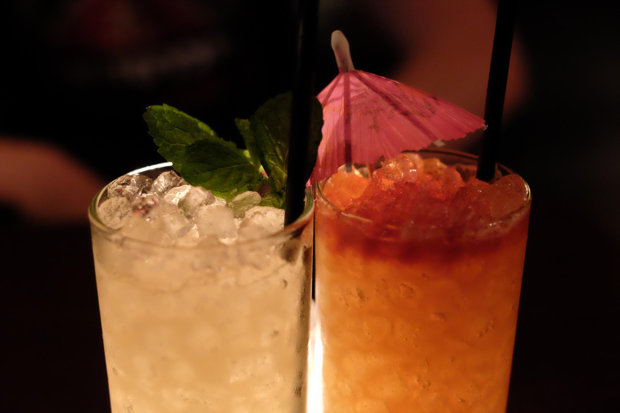 Cocktails • 35mm • f/2.8 • 1/38