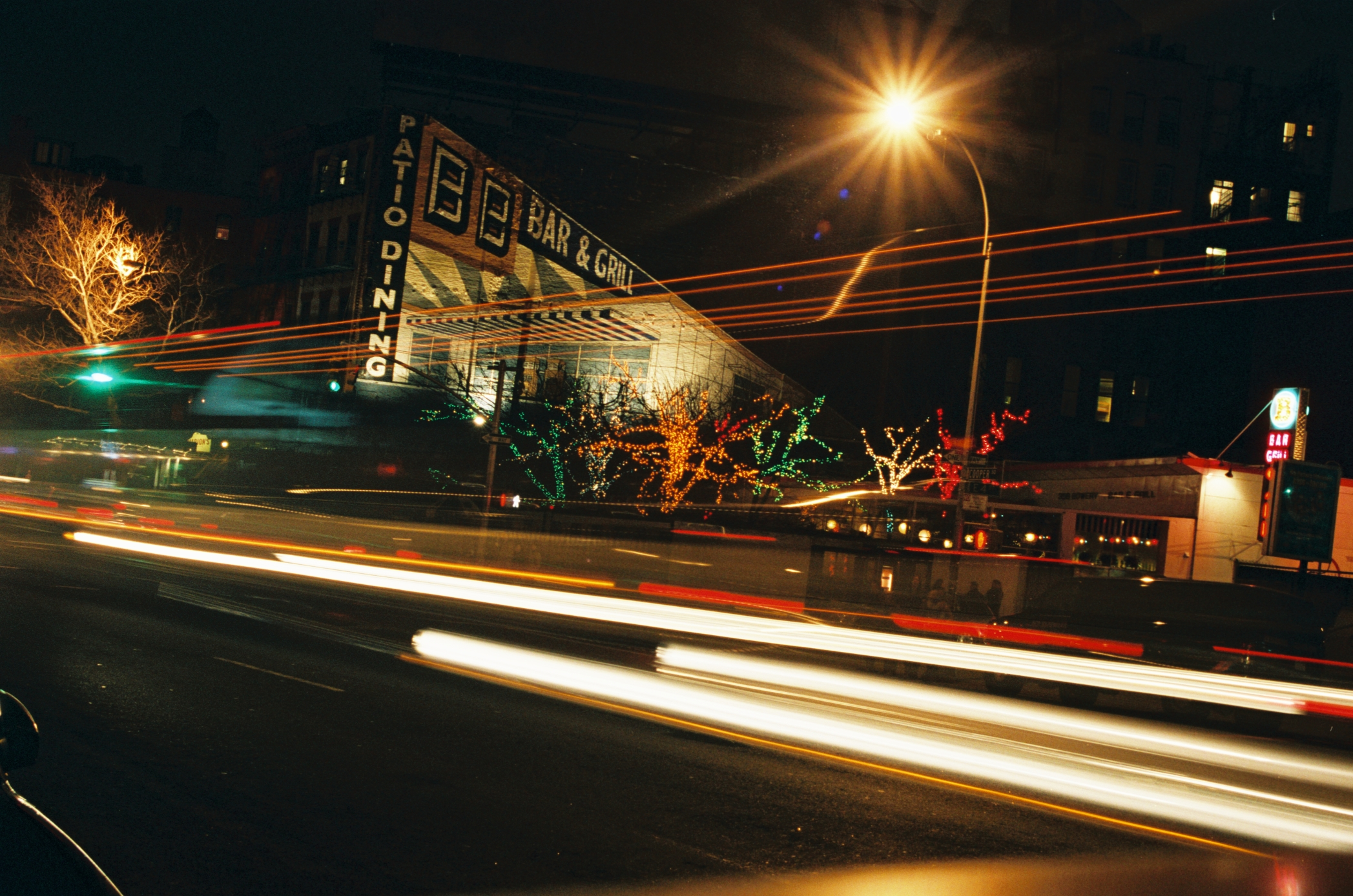 The Bowery, 2005, 35mm color slide.