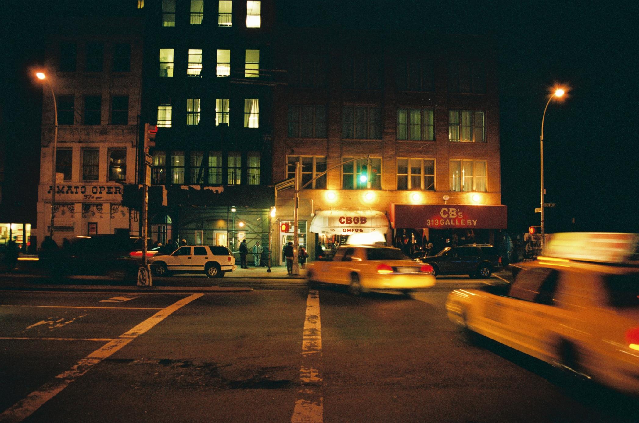 CBGB, 2005. 35mm color slide.