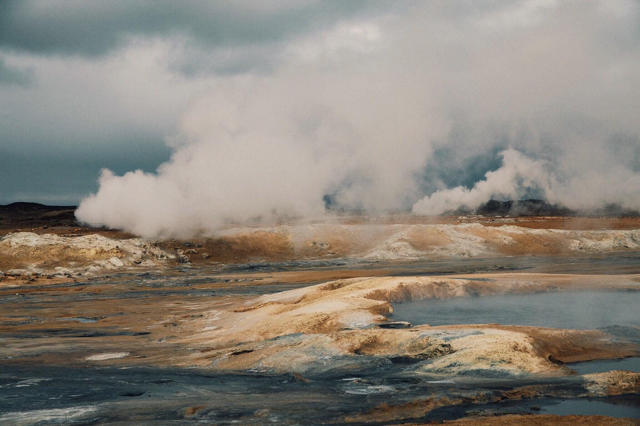 geothermal field iceland
