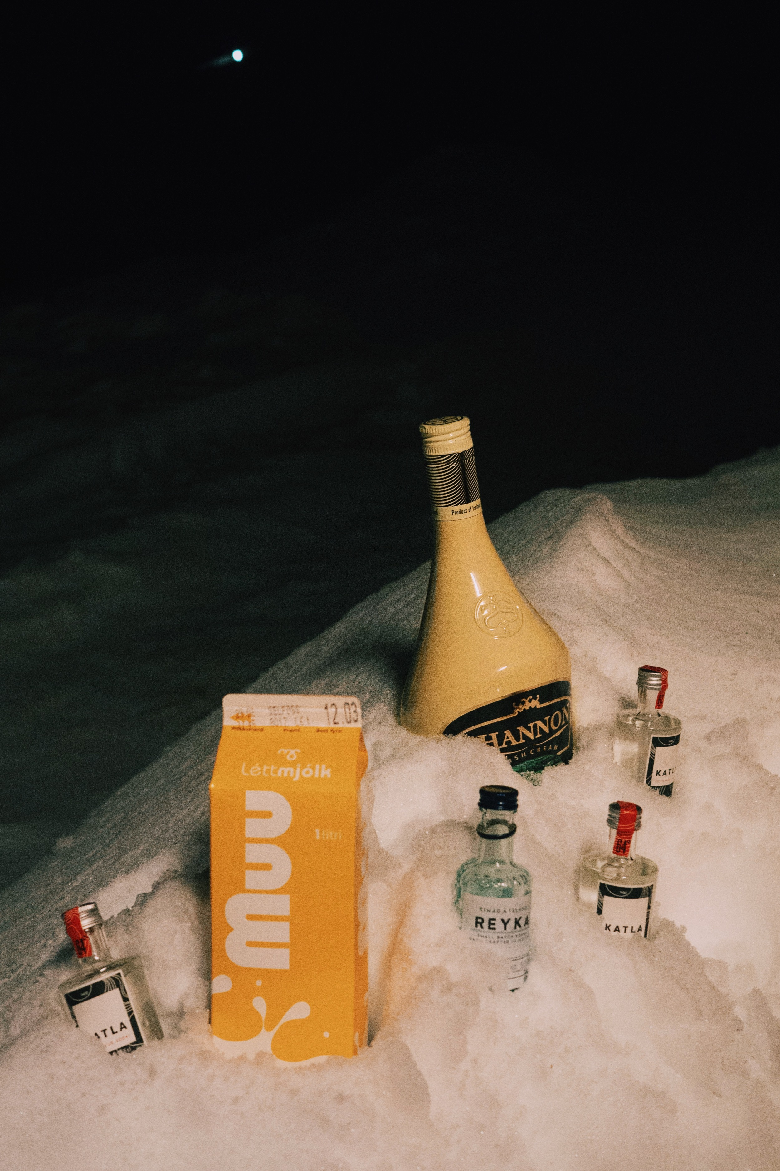 Icelandic mini bar