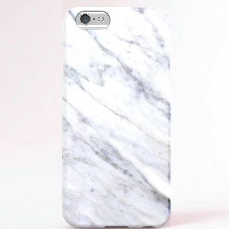 Artice / White Marble iPhone Case