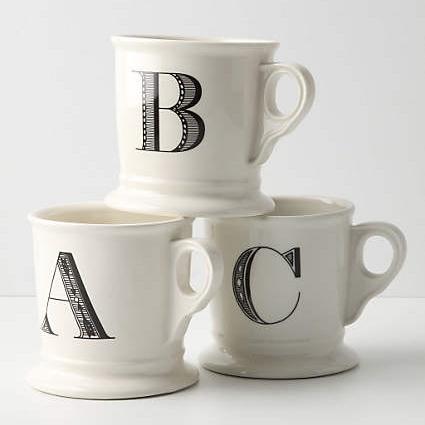 Anthropologie / Monogram Mug