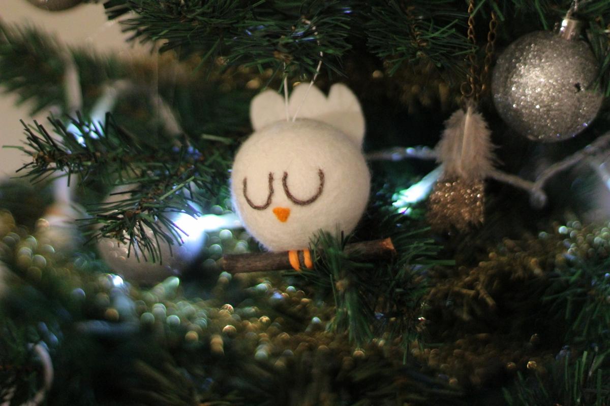 Owl Ornament -so precious!!