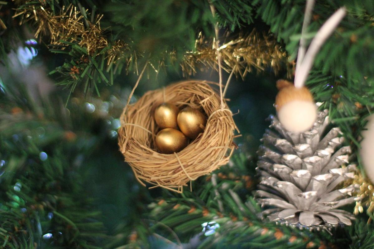 Golden Egg Ornament
