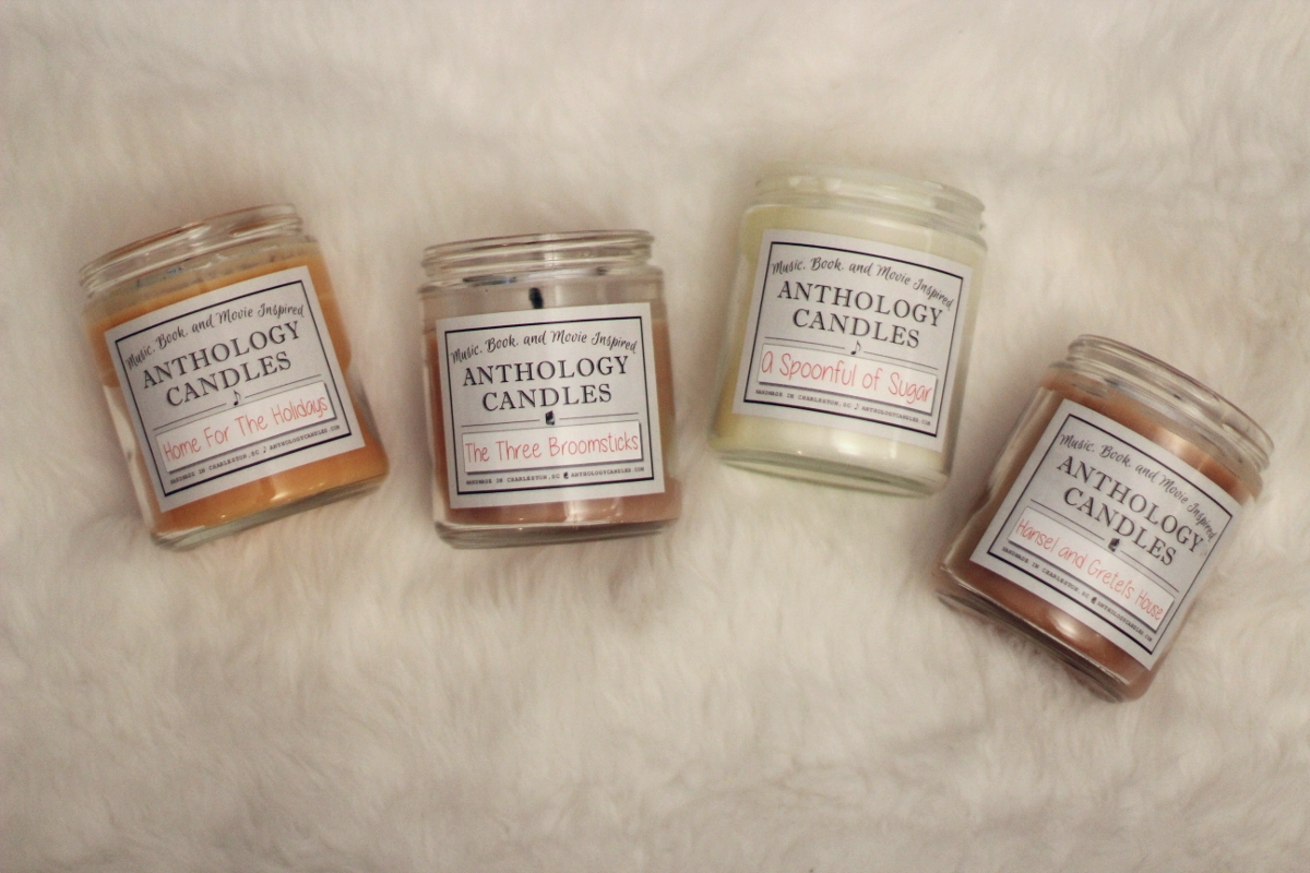 Literally obsessed. Do yourself a favor and buy everyone you know one because they will love you. These are my favorites.  Anthology Candles