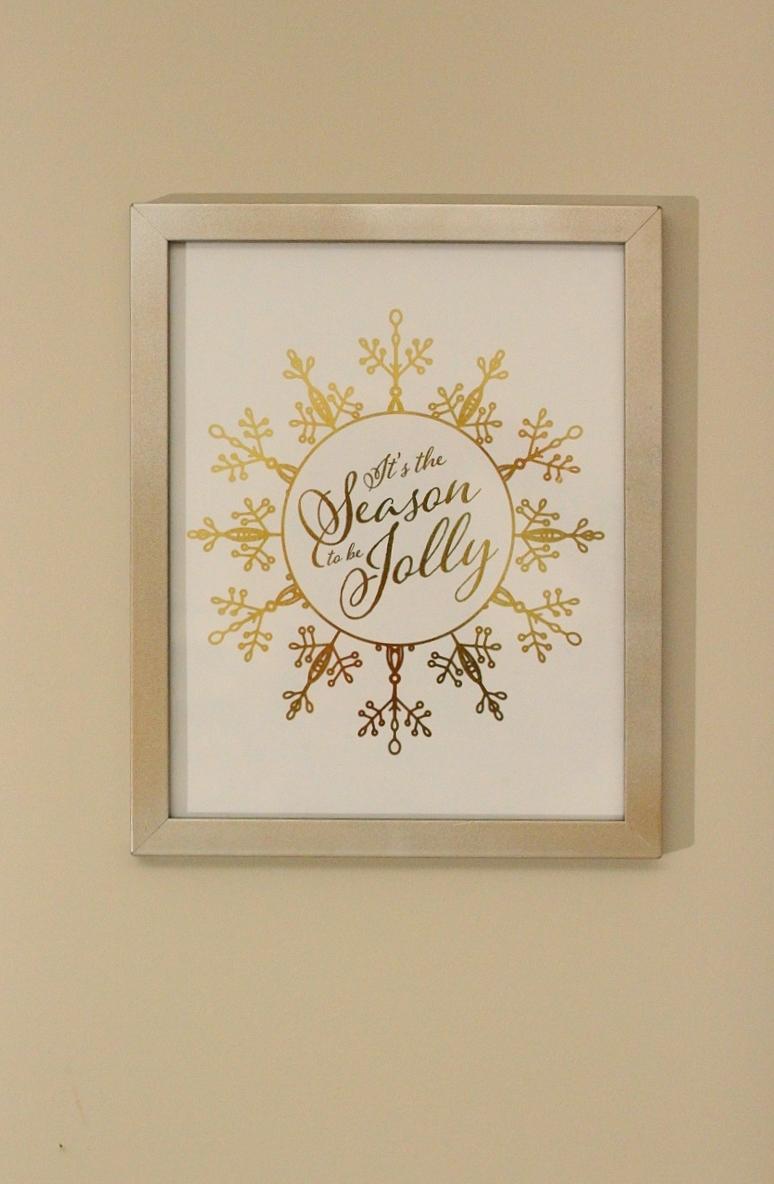 Gold Foil Print!!
