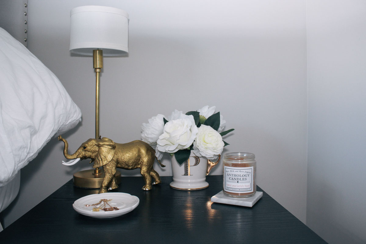 Gold lamp  from  Illuminate Vintage