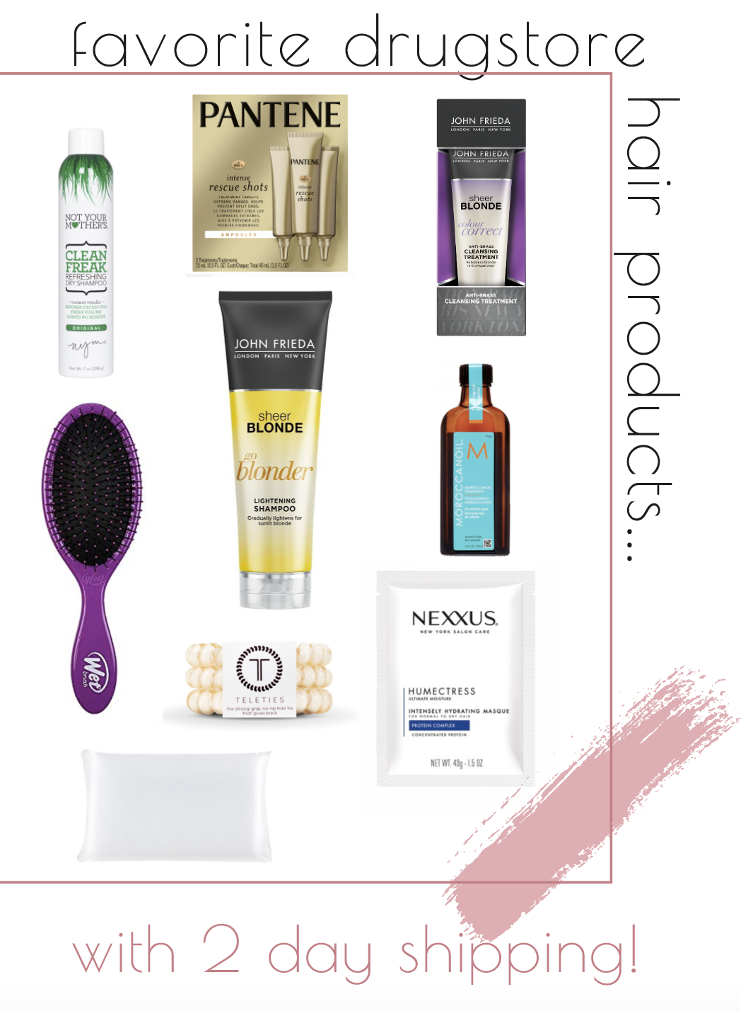 favorite-drugstore-hair-products