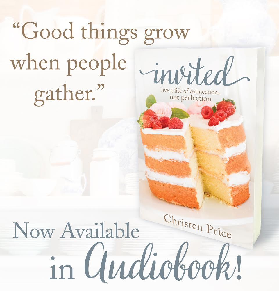 Invited  is now available as an audiobook! Get it for free on Audible  here .