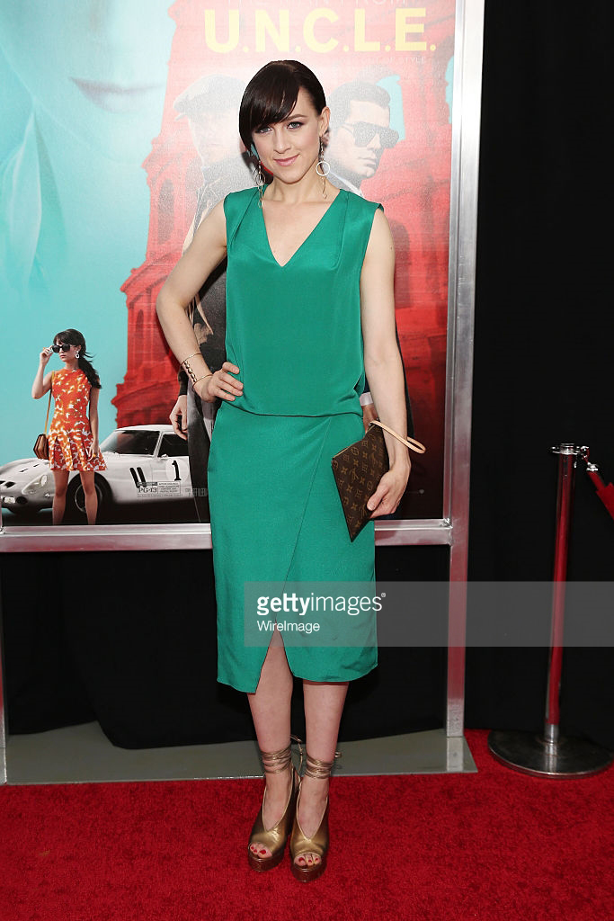 LENA HALL - THE MAN FROM U.N.C.L.E PREMIERE - AUGUST 2015