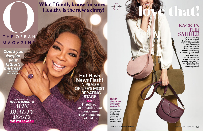 O Magazine - Oct. 2019 feature