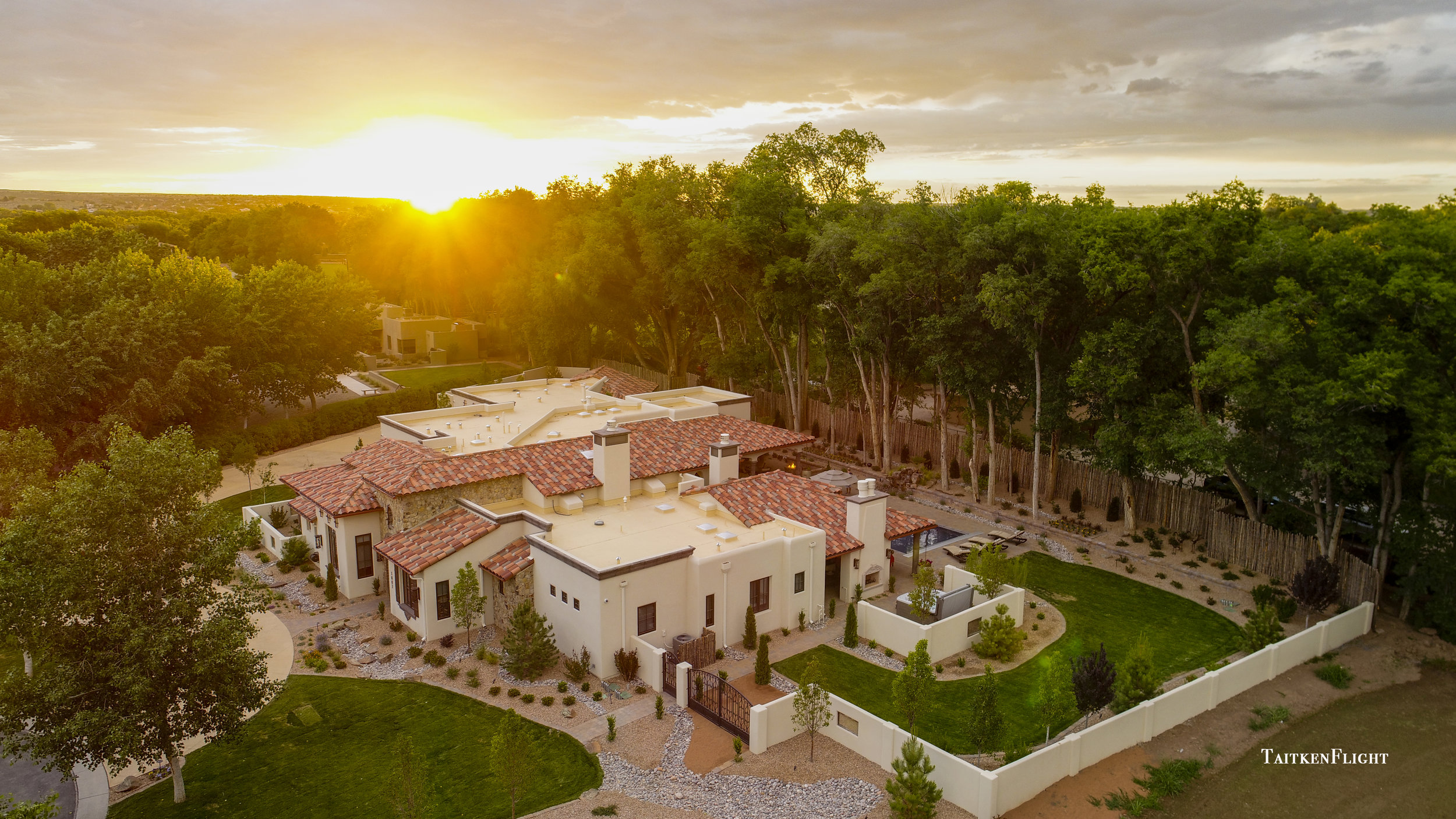 Professional Aerial Photography in New Mexico and Colorado.